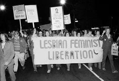 Lesbian Feminist Liberation march, New York City, 1977 | A Quick Reminder Of Those Who Fought Valiantly For Gay Rights