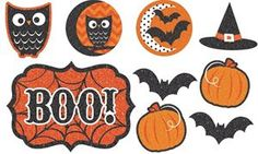This Modern Halloween Cutouts Pack is perfect for any spooky occasion or party. Ideal for haunted houses, this item will surely transform any location in a scary event. $3.99