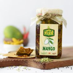 Product Description: The traditional Aam ka Achaar with the special flavour of Aniseed (Saunf), that sums up this delicious pickle!  Q Factor: The pickle is made in small batches without any preservatives and additives. All ingredients are freshly sourced from a farm and then sun-dried to maintain the traditional taste of the pickle.