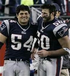 Vrabel and Bruschi - 2 of my all-time faves - Miss these two on the field!