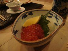 salmon roe, Japanese popular relish