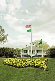 Clubhouse - Augusta National Golf Club.