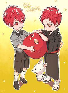 Red hair anime boys