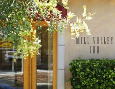 Stay downtown at the Mill Valley Inn