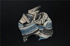 Thrown and manipulated. Shades Of Grey, 50 Shades, Blue Grey, Clay, Ceramics, Artist, Artwork, Clays, Ceramica