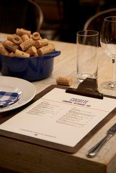 Cocotte restaurant menu