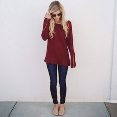 Love big chunky sweaters for Fall! <3