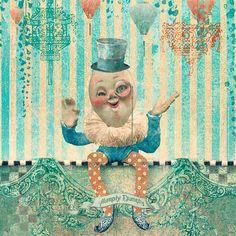 """Humpty Dumpty"" by AngiandSilas | Redbubble"