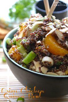 Asian Chicken Quinoa Bowl
