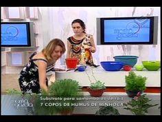 1a aula de jardinagem na TV Gazeta por Nô Figueiredo