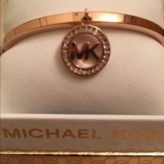 Authentic Michael Kors Rose Gold Bracelet Beautiful Michael Kors Bracelet Michael Kors Jewelry Bracelets