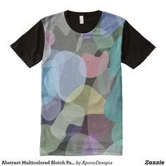 - Multicolored Blotch Pattern All-Over-Print Shirt Printed Shirts, Shirt Style, Your Style, Shirt Designs, Abstract, Pattern, Prints, Mens Tops, T Shirt