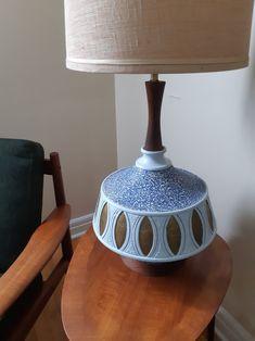 Quartite 50s plaster lamp repainted