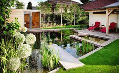 Sauna v zahradě - Trendy 2017 Outdoor Living, Outdoor Decor, Countryside, Deck, Home And Garden, Backyard, Outdoor Structures, House, Inspiration