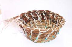Weaving a Pine Needle Basket