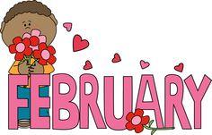 February boy with hearts
