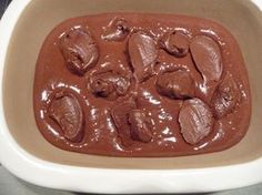 Pampered Chef Chocolate Lava cake