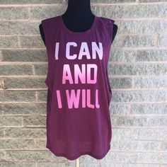 Workout muscle tee Brand new never worn Tops Muscle Tees
