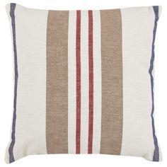 Buy Beach Stripe Cushion   Cushions   The Range