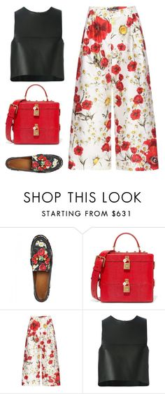 """Untitled #3990"" by michelanna ❤ liked on Polyvore featuring Dolce&Gabbana and Fendi"