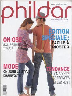 Catalogue Phildar N ° 490 créations Facile à tricoter 2008 - net Paty - Picasa Albums Web