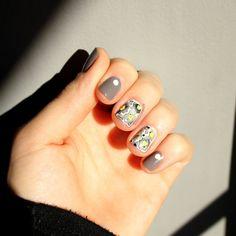 Watercolour Flower Nails