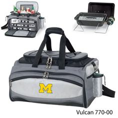 Michigan Wolverines Tailgating Grill Set | University Of Michigan BBQ Tools #Ultimate Tailgate #Fanatics