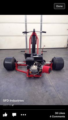 If I had known when I was 7 that I could grow up to be a manufacturer of custom motorized drift trikes maybe I would have let go of all that astronaut BS before wasting the next 12 years figuring out that I'm not smart enough to be an astronaut. Drift Kart, Jdm, Drift Trike Frame, Drift Trike Motorized, Toy Wagon, Diy Go Kart, Mini Chopper, Custom Trikes, Big Wheel