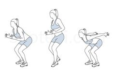 Forward jump shuffle back exercise guide with instructions, demonstration, calories burned and muscles worked. Learn proper form, discover all health benefits and choose a workout.