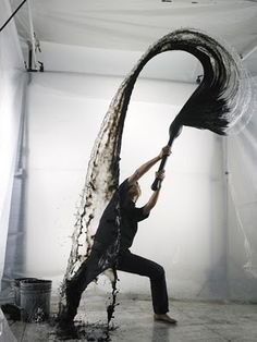 water art. beautify and amazing. shinichi maruyama.