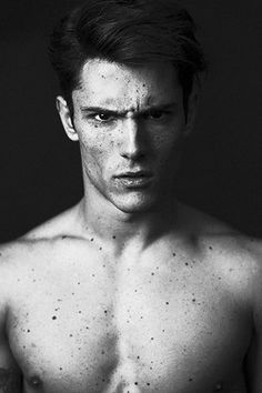 Diego Barrueco | Photographed by Dimitris Theocharis [ gif | b&w | male models | popular | facebook | google+ | instagram ]