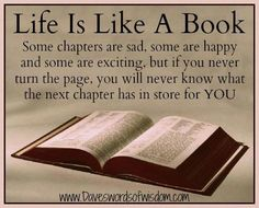 Life is Like a Book!