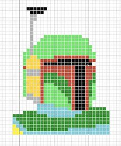 Boba Fett cross stitch for my new cross stitch iPhone case? Star Wars Crochet, Crochet Stars, Free Cross Stitch Charts, Cross Stitch Patterns, Cross Stitching, Cross Stitch Embroidery, Stitch Witchery, Nerd Crafts, Perler Patterns