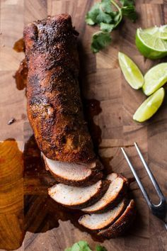 How to easily and quickly cook a pork tenderloin in the oven and keep it incredibly moist! Plus a few suggestions on spice rubs to really help flavor the pork! Oven Baked Pork Tenderloin, Pork Loin Recipes Oven, Bbq Pork Loin, Pork Roast In Oven, Roasted Pork Tenderloins, Meat Recipes, Cooking Recipes, Game Recipes, Pork Chop
