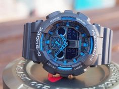 Casio G-SHOCK GA 100-1A2ER Unboxing + Review - YouTube