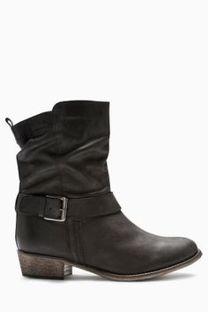 Buy Leather Buckle Sludge Ankle Boots online today at Next  Israel Leather  Buckle, Leather 8e668dde5c