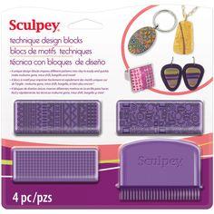 Polyform Sculpey Technique Design Blocks-