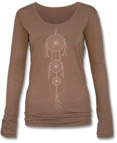 SoulFlower-Dreamcatcher Organic Long Sleeve T-Shirt-$34.00