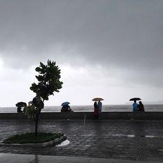 The Mumbai monsoon.