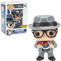 DC Comics Pop! Heroes Clark Kent Vinyl Figure