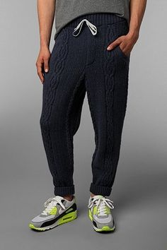 blundetto cable knit sweatpant ++ lifetime collective