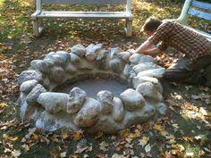 Retreat Centre: New Stone Fire Pit
