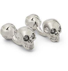 Alexander McQueenSilver-Tone Skull Cufflinks