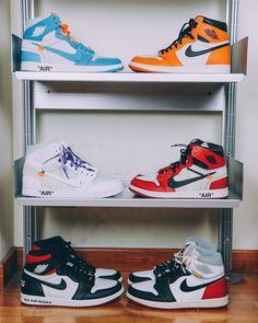 Nike Off-White Air Jordan 1 Blue cute shoes for stretching Nike Air Shoes, Nike Air Jordans, Air Jordan Shoes, Jordan Nike, Sneakers Nike Jordan, Jordan Tenis, Shoes Sport, Jordan 11, Jordan Retro