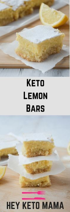 This recipe for keto lemon bars is an absolute low carb dream! CLICK Image for full details This recipe for keto lemon bars is an absolute low carb dream! With only of net carbs per serving, you'll. Keto Cookies, Cookies Et Biscuits, Keto Biscuits, Ketogenic Recipes, Ketogenic Diet, Low Carb Recipes, Keto Foods, Keto Meal, Paleo Diet
