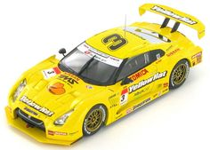 Ebbro - 1:43 - Nissan GT-R - The Yellow Hat YMS - Fuji 500 - Ronnie Quintarelli / Naoki Yokomizo