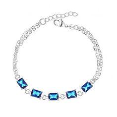 Reliable Reputation Female Star Shape 925 Sterling Silver Bracelet