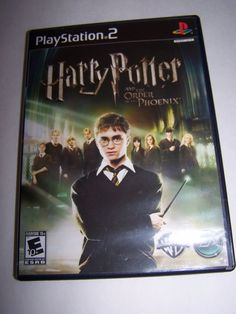 Playstation Harry Potter & The Order Of The Phoenix Game Rated E Fantasy Used