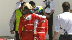 Alonso y Massa. G.P. de Gran Bretaña   (30-6-2013)