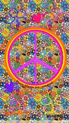 ☮✌~Paz~✌☮ ❤~ AMOR ~❤  ❤☮✌Peace☮∞L♡VE∞★ Hippie Peace Art....